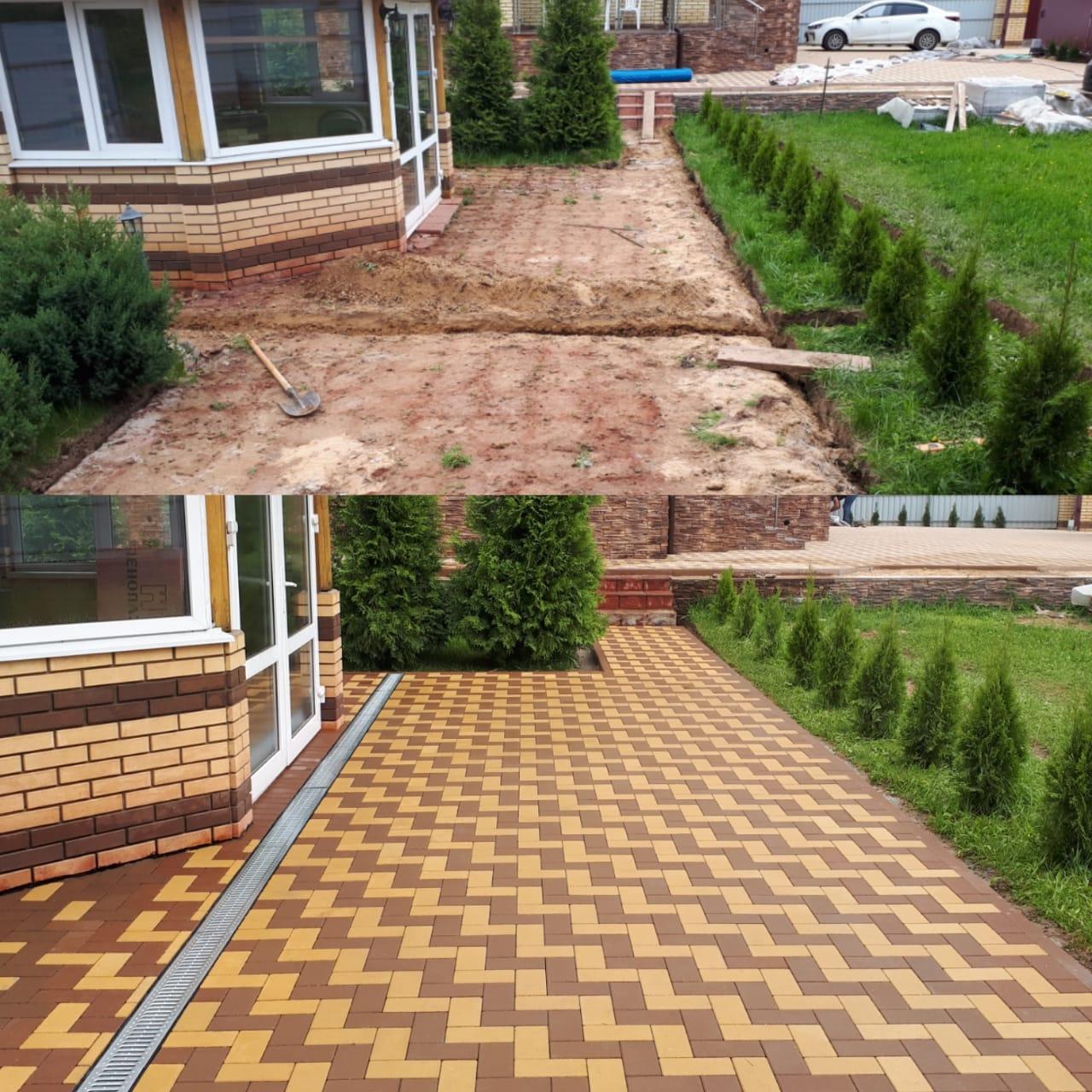 Тротуарная плитка в Солнечногорске