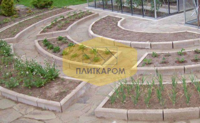 Где в Солнечногорске купить садовый бордюр от производителя