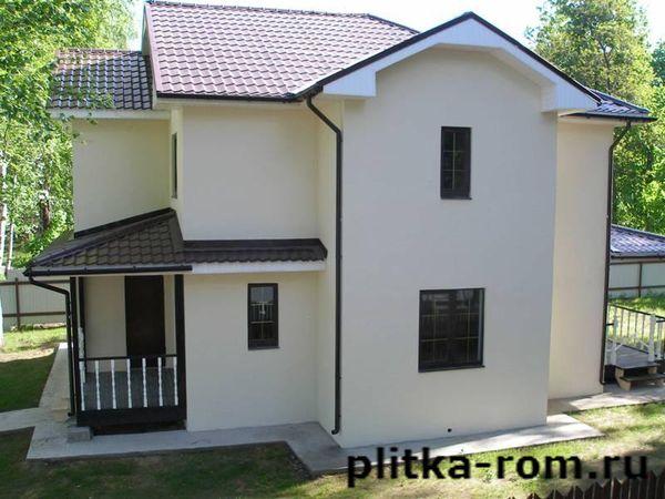 Цена отделки фасада дома панелями под кирпич