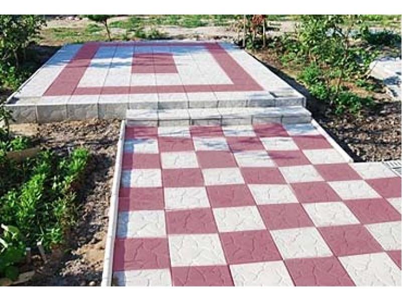 Укладка тротуарной плитки 30 на 30 своими руками